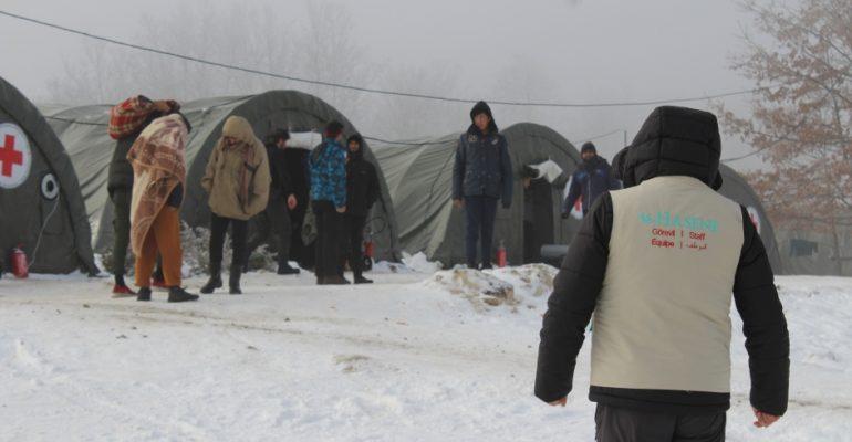 """Posjeta migrantskom kampu """"Lipa"""""""