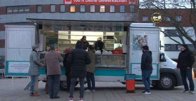 HASENE INTERNATIONAL: Podjela toplog obroka za beskućnike